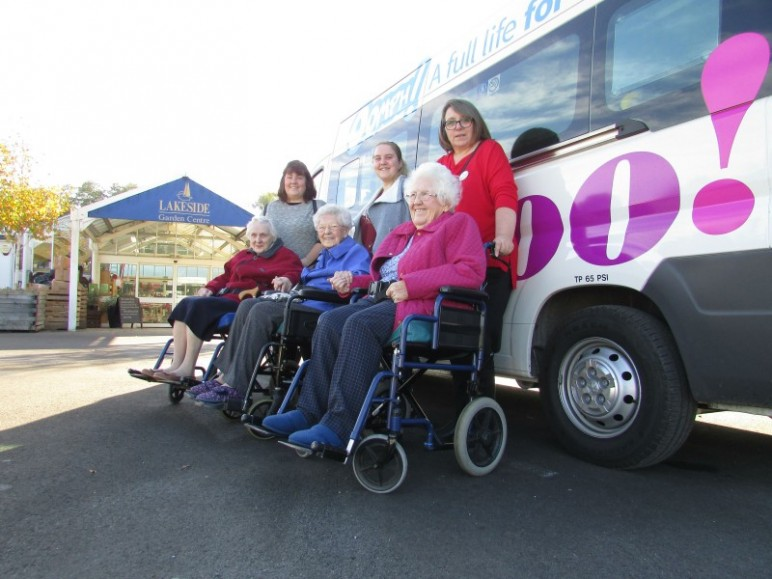 Somerset Care partner with Oomph!